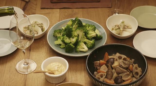 きのう何食べた?レシピ集(第8話) ブロッコリー梅わさマヨネーズ・かぶのあんかけ他