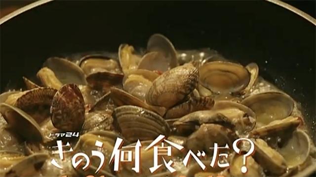 きのう何食べた?レシピ集(第11話) あさりとブロッコリーのペペロンチーノ風